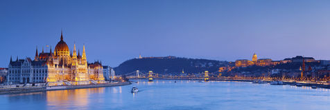布达佩斯。 图库摄影