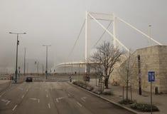 布达佩斯伊丽莎白桥梁 免版税图库摄影