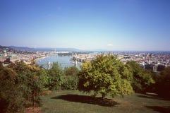 布达佩斯全景。 库存照片