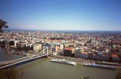 布达佩斯全景。 免版税库存照片