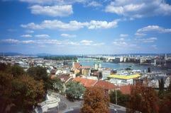 布达佩斯全景。 免版税图库摄影