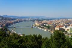 布达佩斯全景 免版税图库摄影