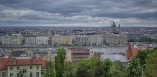 布达佩斯全景 图库摄影
