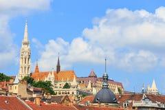 布达佩斯匈牙利全景 免版税图库摄影