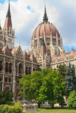 布达佩斯匈牙利匈牙利议会 图库摄影
