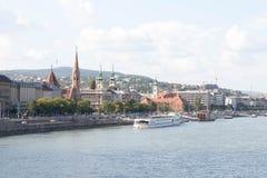 布达佩斯匈牙利视图城市都市教会渔夫本营都市风景 免版税库存图片