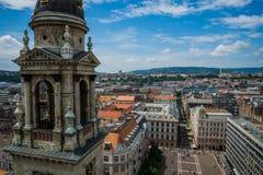 布达佩斯圣斯蒂芬的大教堂 免版税库存照片