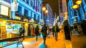布达佩斯圣诞节市场 图库摄影
