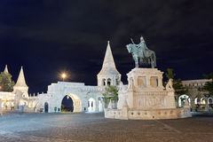布达佩斯在晚上 免版税图库摄影