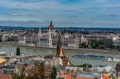 布达佩斯地平线 免版税库存图片