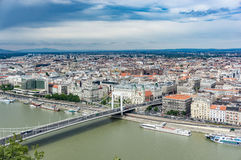 布达佩斯地平线 免版税库存照片