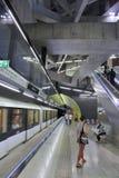 布达佩斯地铁 免版税库存图片