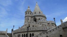 布达佩斯城堡塔 图库摄影