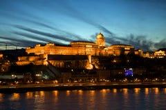 布达佩斯城堡 免版税库存图片