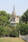 布达佩斯城堡vajdahunyad 免版税图库摄影