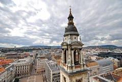 布达佩斯壮观视图 库存照片