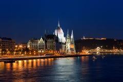布达佩斯大厅匈牙利议会 库存图片