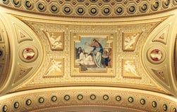 布达佩斯大教堂 免版税库存照片