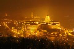 布达佩斯宫殿 库存照片
