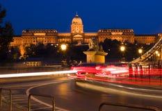 布达佩斯宫殿 免版税库存照片
