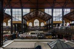 布达佩斯市场大厅 库存照片