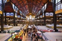 布达佩斯市场 免版税库存照片