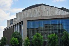 布达佩斯市艺术宫殿  免版税库存图片