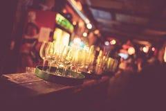 布达佩斯废墟酒吧退了色 免版税库存照片
