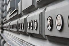 布达佩斯恐怖议院 库存照片