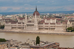 布达佩斯房子议会 免版税库存图片