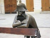 布达佩斯拿破仑雕象 免版税库存图片