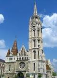 布达佩斯教会匈牙利matyas 库存照片
