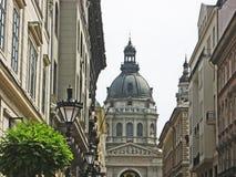 布达佩斯教会圆顶st斯蒂芬 库存图片
