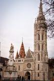 布达佩斯教会马赛厄斯 免版税图库摄影