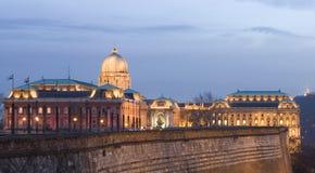 布达佩斯晚上 免版税图库摄影
