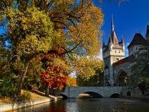 布达佩斯有历史的宫殿 库存照片