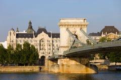 布达佩斯有历史的结构 库存图片