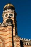 布达佩斯极大的犹太教堂 免版税库存照片