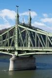 布达佩斯桥梁 免版税图库摄影