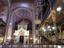 布达佩斯犹太教堂1 免版税库存图片