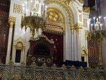 布达佩斯犹太教堂2 免版税图库摄影