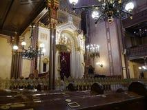 布达佩斯犹太教堂5 库存照片