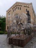 布达佩斯犹太教堂7 库存照片