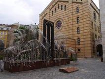 布达佩斯犹太教堂18 库存照片