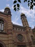 布达佩斯犹太教堂20 图库摄影