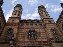 布达佩斯犹太教堂21 免版税图库摄影