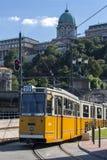 布达佩斯电车系统-匈牙利 库存图片