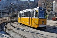 布达佩斯电车 库存图片