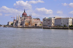 布达佩斯的议会 库存照片