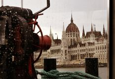 布达佩斯的Parlament 免版税图库摄影